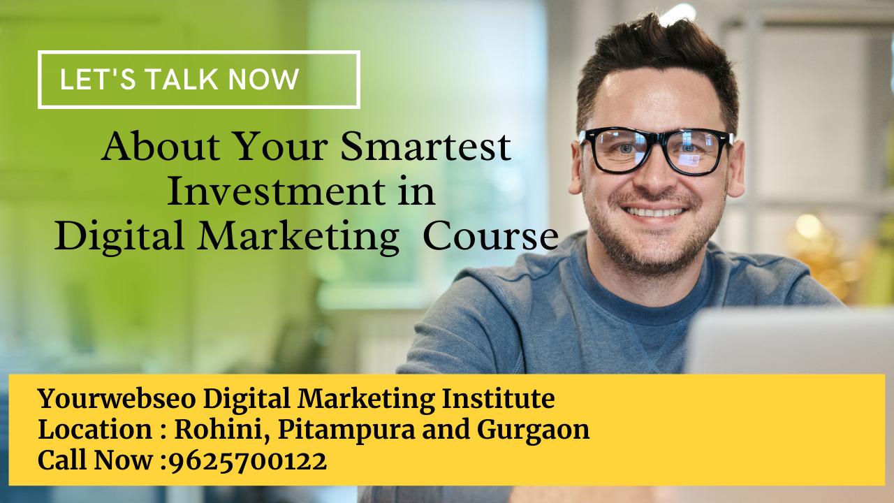 Digital Marketing Institute Pitampura and Gurgaon